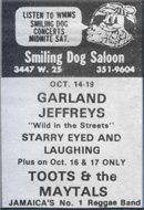 Smiling Dog Saloon poster